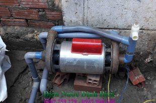 Sửa máy bơm nước giếng khoan tại quận 2