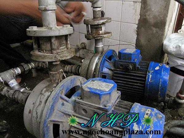 Thợ sửa máy bơm nước tại thị xã thuận an