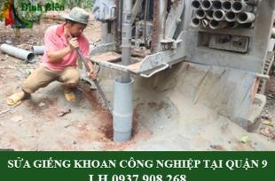 Sửa giếng khoan công nghiệp tại quận 9
