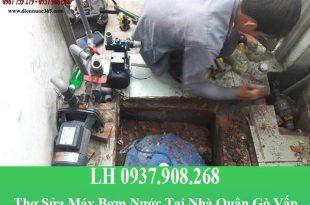 Thợ sửa máy bơm nước tại quận gò vấp giá rẻ