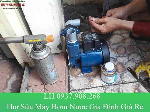 Dịch vụ sửa máy bơm nước gia đình tại quận 9