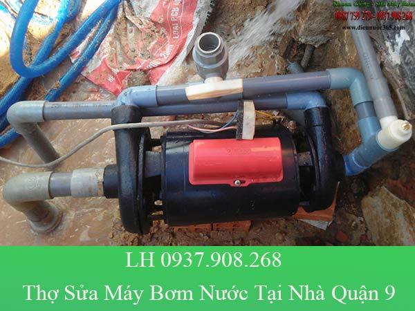 Thợ sửa máy bơm nước tại nhà quận 9 giá rẻ
