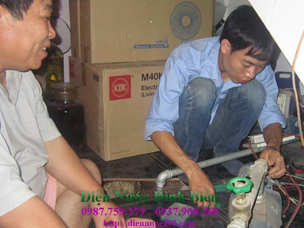Sửa máy bơm nước tại phường bình an quận 2