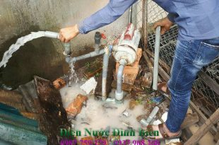 Sửa máy bơm nước tại phường bình thọ