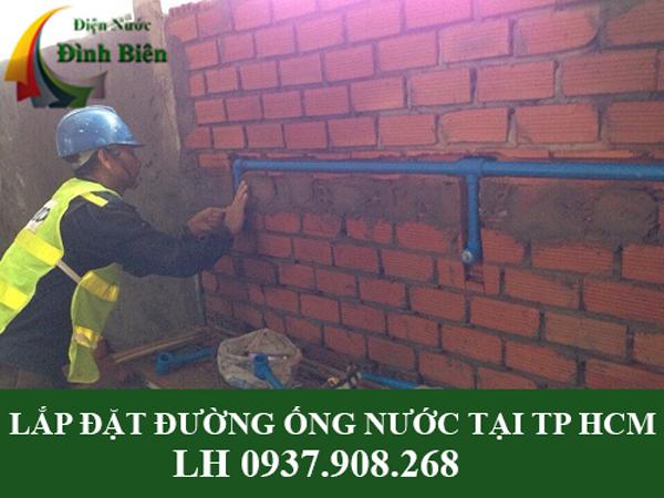 Lắp đặt đường ống nước tại TPHCM