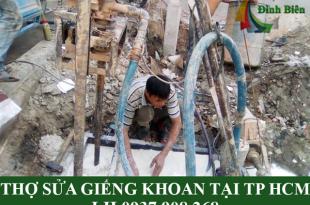 Thợ sửa giếng khoan tại TP HCM