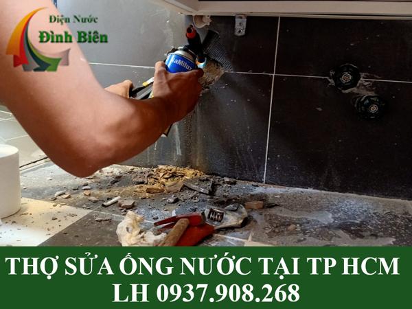 Thợ sửa ống nước tại TP HCM