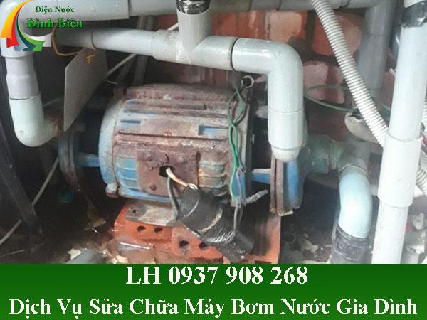 Dịch vụ sửa máy bơm nước gia đình giá rẻ