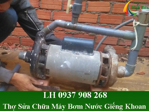 Sửa chữa máy bơm nước giếng khoan tại nhà
