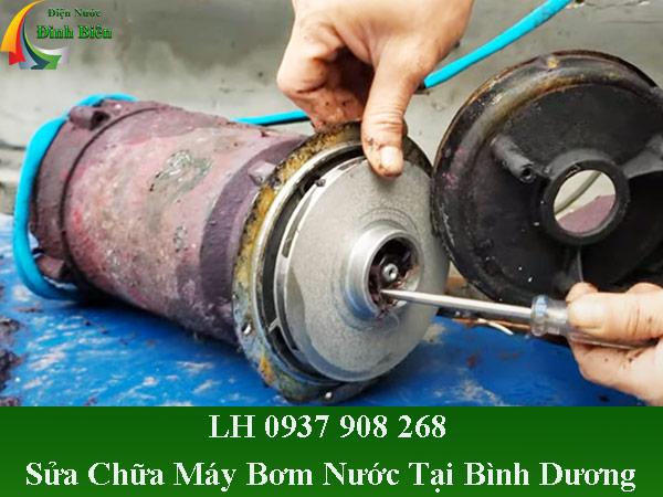 Dịch vụ sửa chữa máy bơm nước tại bình dương giá rẻ