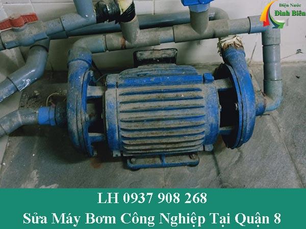 Sửa chữa máy bơm nước công nghiệp tại quận 8 chuyên nghiệp