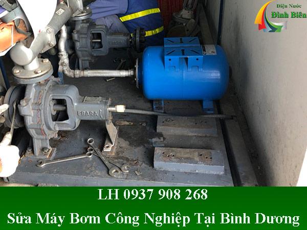 Sửa chữa máy bơm nước công nghiệp tại bình dương giá rẻ