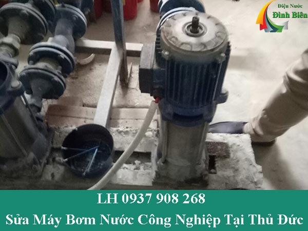 Sửa máy bơm nước công nghiệp tại thủ đức giá rẻ