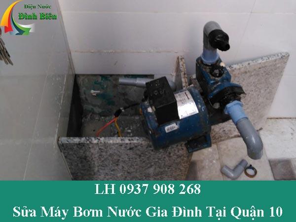 Sửa máy bơm nước gia đình tại quận 10 giá rẻ