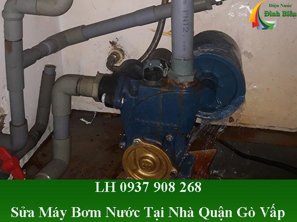 Sửa máy bơm nước tại nhà quận gò vấp giá rẻ