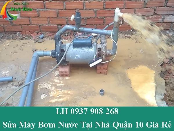 Dịch vụ sửa máy bơm nước tại nhà quận 10