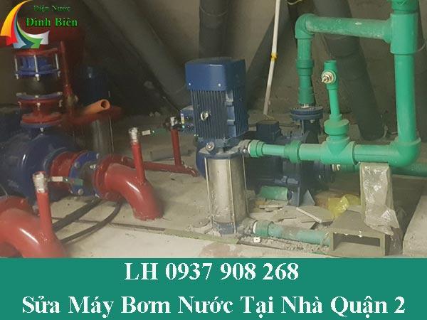 Sửa chữa máy bơm nước tại nhà quận 2 chuyên nghiệp