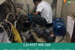 Thợ sửa máy bơm nước tại nhà củ chi giá rẻ