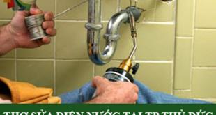 Thợ sửa chữa điện nước tại TP Thủ Đức
