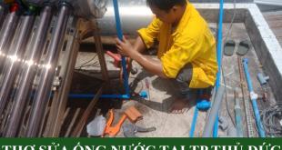 Thợ sửa ống nước tại TP Thủ Đức